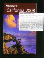 Frommers 2008 Guide Book